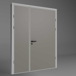Semi insulating doors