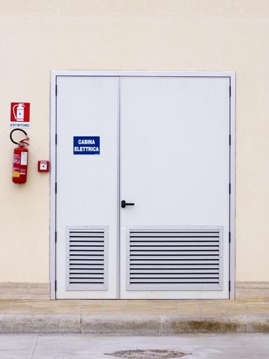 Porte tipo ufficio a due ante PFI | pfitech.it | access way ...