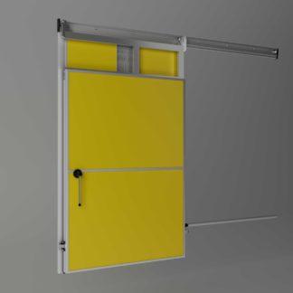 Meat rail passage sliding doors (SPG)