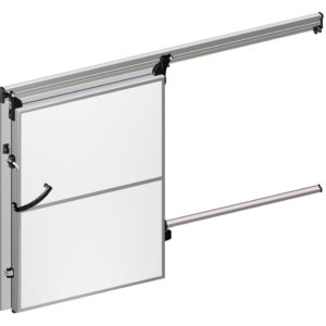 Lateral sliding doors